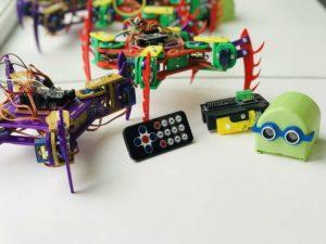 Робот с пультом